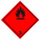 Информационное табло №3 по ДОПОГ (легковоспламеняющиеся жидкости)